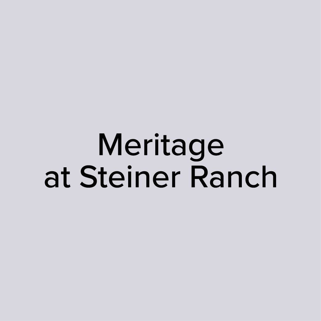 Resident Reviews of Meritage at Steiner Ranch